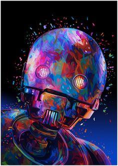 Star Wars Tribute: K-2SOCreated by Alessandro Pautasso || FB