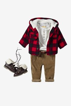lumberjack - for when we visit cold MN Baby Boy Or Girl, New Baby Boys, Zara Kids, Mini Choses, Baby Boy Outfits, Kids Outfits, Cute Kids Photography, Winter Photography, Zara Baby