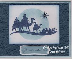 Come to Bethlehem; stippling