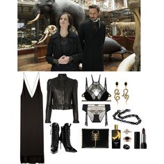 Beautiful Monsters//The Creeping Museum by ghoulnextdoor on Polyvore featuring Dion Lee Line II, J.W. Anderson, Giuseppe Zanotti, Diego Percossi Papi, Muriel Grateau and Kat Von D