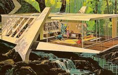 the future from the 1960s | ... Charles Schridde in the early 1960s showing midcentury modern design