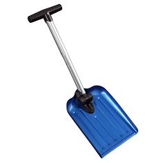 Emergency Folding Snow Shovel in Carrying Bag for Car or Truck, Blue, by CASL Brands. For product & price info go to:  https://all4hiking.com/products/emergency-folding-snow-shovel-in-carrying-bag-for-car-or-truck-blue-by-casl-brands/