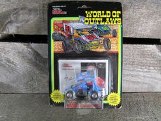 Andy Hillenburg #2, Racing Champions, World Of Outlaws, Sprint Cars 1993, 1/64 Scale Die Cast Model Car, 1st Series, Collectible Toys by TheStorageChest on Etsy