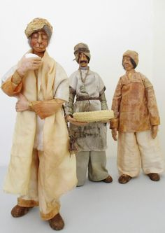the Tea Masters of Assam tea dyed fabrics, tea bags, polymer clay.   Empress Wu Designs: Exhibitions