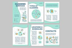 Page Template, Brochure Template, Templates, Popup, Cleaning Service, Nerf, Leaflet Printing, World Cancer Day, Binder
