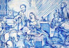 Natividade (1746 - 1754). Painel de azulejos portugueses