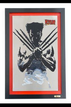 Wolverine (pintura sobre acero)