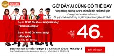 Vé máy bay giá rẻ tháng 8 bay quốc tế 46 USD Hotlines: 0982 368 188 - 0163 513 4262(Ms Hương)