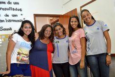 Blog do Inayá: Inayá recebe visita de ex-alunos
