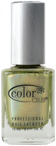 Kismet (Holographic) by Color Club Green Colors, Bright Colors, Spa Branding, Polish Names, Holographic Nail Polish, Cool Undertones, Color Club, Professional Nails, I Cool
