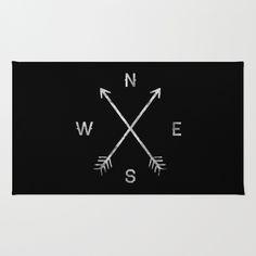Compass+Rug+by+Zach+Terrell+-+$28.00