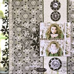 Layout made by Authentique Paper DT Member Loes de Groot