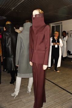 Maison Martin Margiela AW12 Fashion Show Paris Backstage