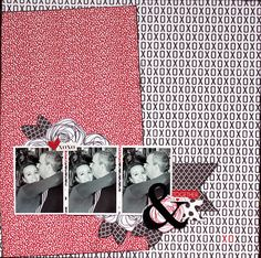 Together, Me & You ~ Sunday Scrappy Challenge: #1