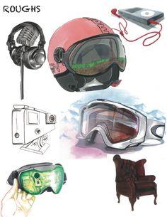 Ecole Com'Art - Arts appliqués Design Graphique - Rough - http://www.comart-design.com/fr/formations/manaa-prepa - #design #draw #graphicstudent #drawing #graphicdesigner #product #snow