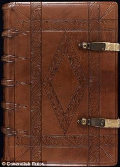 Written in Old English and Latin in AD, the Textus Roffensis is so called because . Medieval Books, Medieval Manuscript, Old Books, Vintage Books, Handmade Journals, Custom Journals, Book Journal, Journal Paper, Leather Bound Books
