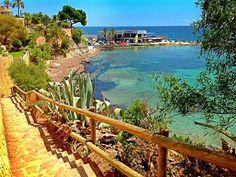 Les Basetes beach. Benissa Spain