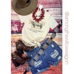Funky-fun fashion with a western flare! Find us on Facebook and Instagram! @amongthewillowwagon