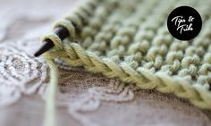 How to make a nice edge stitch. At the beginning of the row, hold the yarn in front (instead of in the back as it usually would be). Insert your needle in the back of the first stitch (knitwise) and s (Tech Tips How To Use)