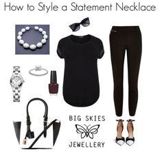 Style Saturday - How to Style a Statement Necklace (Part 3)