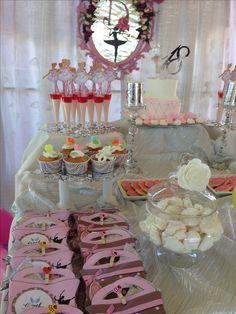 sweet birthday party-balerin Mutluluk dolu doğum günü parti organizasyonu