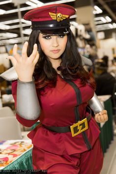 Street Fighter // M. Bison by Ivy Doomkitty Anime Costumes, Cool Costumes, Cosplay Costumes, Amazing Cosplay, Best Cosplay, Bison, Cosplay Girls, Anime Cosplay, People Dress