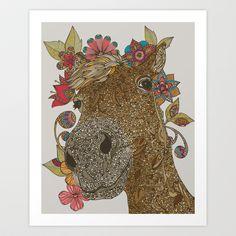 Delilah Art Print by Valentina Harper - $18.00