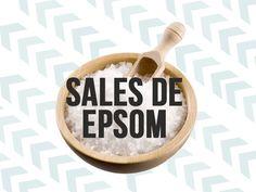 Beneficios de las Sales de Epsom   Tienen un montón de beneficios para la salud, además de un montón de aplicaciones de belleza, se encuentra en los supermercados, farmacias y si eso no te termina de convencer su precio lo hará.