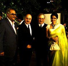 Sridevi Kapoor with Her husband Boney Kapoor