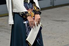 Street style New York Fashion Week primavera verano 2014 Nueva York Gran Manzana