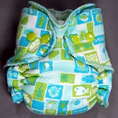 Cloth Diaper Newborn Hybrid Fitted NB - Petroglyphs - by Little Boppers. $18.00, via Etsy.