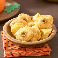 Monster Eye Cheese Wafers
