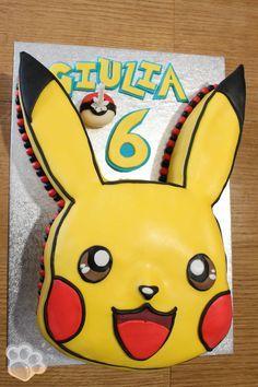 Pokemon Party, Pokemon Birthday, Disney Birthday, 3rd Birthday Parties, Birthday Cakes, Pikachu Cake, Pokemon Coloring, Cakes For Boys, Celebration Cakes