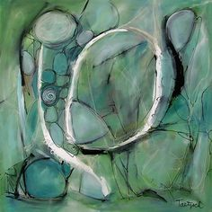 Adam Three by Lynne Taetzsch: Acrylic Painting available at www.artfulhome.com