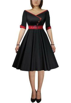 d5e81a9b51 Rockabilly Dress- love the design