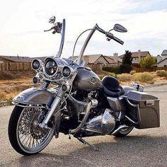 Hands down, Best looking bike ever! #harleydavidsonroadking