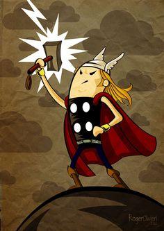 Thor #Illustration