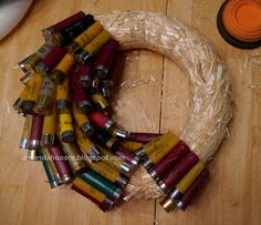 I Can Totally Do That...: Shotgun Shell Wreath