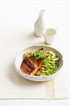Transport your tasetbuds to Japan with this tasty salmon dish. So simple to create it will