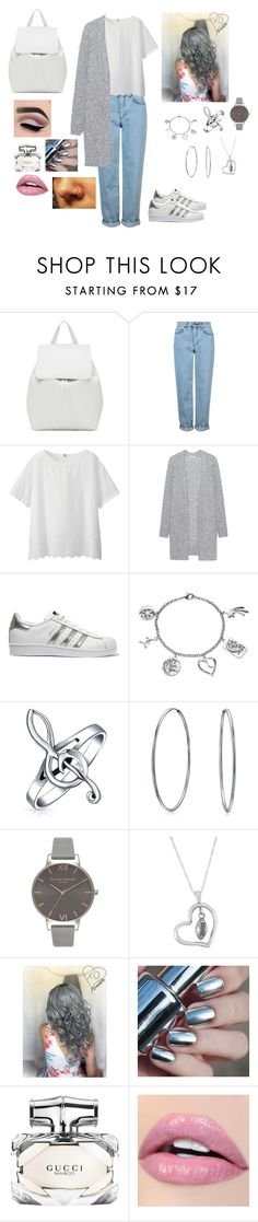"""""""Untitled #107"""" by nono-love-niall ❤ liked on Polyvore featuring Mansur Gavriel, Topshop, Uniqlo, Acne Studios, adidas Originals, Love This Life, Bling Jewelry, Olivia Burton, Dayna U and Gucci"""