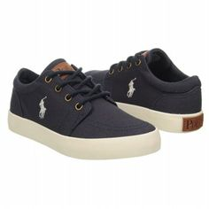 Polo by Ralph Lauren Faxon Low Pre Shoes (Navy) - Kids' Shoes - 13.0 M Polo Shoes, Polo Ralph Lauren, Converse, Navy, Sneakers, Kids, Hale Navy, Tennis, Young Children