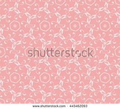Bright wall-paper with gentle abstract drawing, pink. A seamless pattern for design.