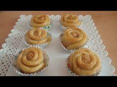 حلويات العيد | مقروط الوردة التركي رائع المذاق حلويات رمضان 2017 | Sabrina Cuisine - YouTube Desserts, Food, Tailgate Desserts, Deserts, Essen, Postres, Meals, Dessert, Yemek