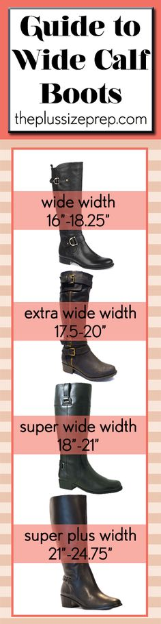 The Prep'd Guide to Wide Calf Boots // Always make sure to measure around the fullest part of your calf for the best fit // learn more at The Plus Size Prep'd: http://bit.ly/1EdaEYk