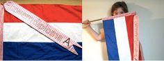 Zwemdiploma vlag