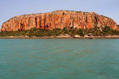 Adventure cruising along Australia's wild Kimberley coastline.  #kimberley #adventure #cruising #rockart #wilderness