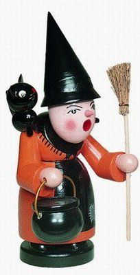 Halloween Witch German Incense Smoker