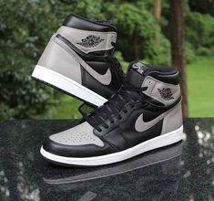 low priced 15230 3e421 Air Jordan 1 Retro High OG Shadow Black Grey White 555088-013 Men s Size 14    eBay