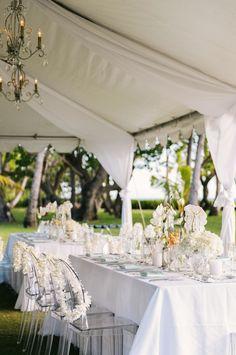 Photography: Christie Pham Photography - christie-photography.com  Read More: http://www.stylemepretty.com/destination-weddings/hawaii-weddings/2014/01/28/modern-vintage-oahu-wedding-at-lanikuhonua/