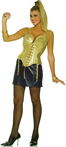 Madonna cone boob costume casually